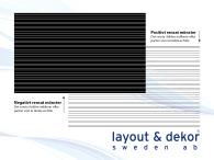 Linje m3 2400x1480mm, positiv dekor
