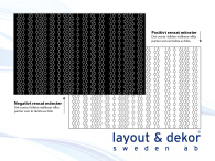 Kretskort m7  2400x1480mm, positiv dekor