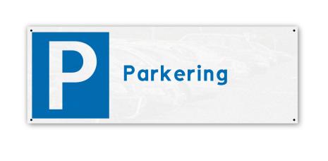 Parkeringsskylt, 280x100mm