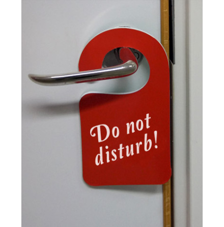 Do not disturb skyltar enkelsidig,10-pack