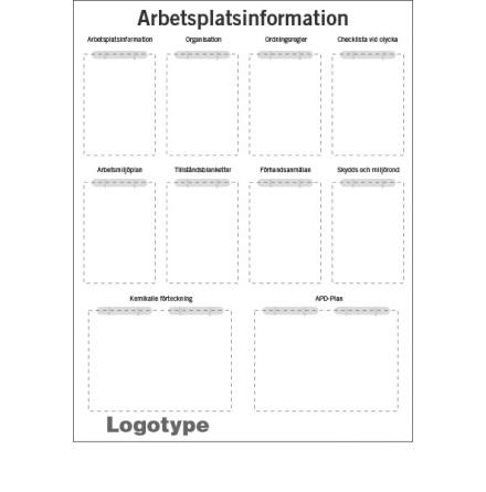 API tavla standard, 1300x1000mm