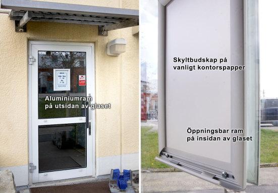 Snäppram, Window Frame