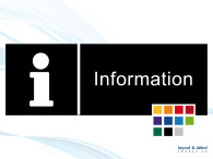 Pictogramskylt. INFORMATION 225x80mm Ej taktil Med text